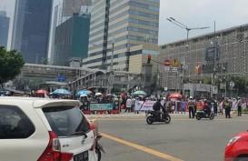Demo di Kedubes Prancis, Transjakarta Modifikasi 3 Rute Berikut