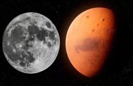 Astronom Klaim Temukan Kembaran Bulan di Balik Planet Mars