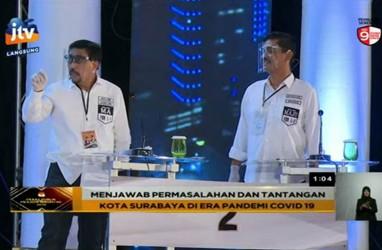 Debat Cawalkot Surabaya, Ini Pandangan Dua Paslon Soal Penanganan Covid-19