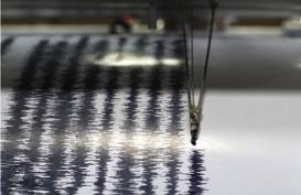 Banten Gempa Magnitudo 5,2 Dirasakan Hingga ke Sukabumi