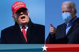 Protes Ramaikan Penghitungan Suara Pilpres AS di Washington