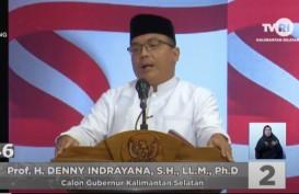 Debat Pilkada Kalsel 2020, Denny Indrayana Soroti Konflik Agraris