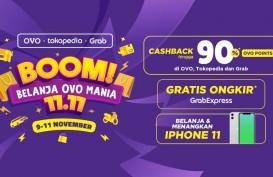 OVO, Grab, dan TokopediaHadirkan Gelaran Promo 11.11