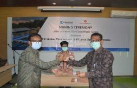 Anak Usaha Krakatau Steel Pasok Air Bersih Lotte Chemical Indonesia