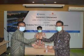 Anak Usaha Krakatau Steel Pasok Air Bersih Lotte Chemical…