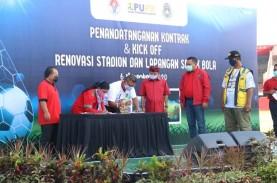 Renovasi Stadion Dipta Bali Habiskan Dana Rp152,9…