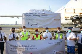 Garuda Luncurkan Rute Kargo Udara Denpasar-Hongkong