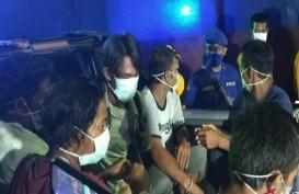 Indonesia Pulangkan 157 ABK WNI Kapal RRT Melalui Pelabuhan Bitung