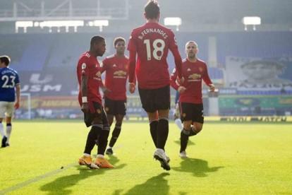 Hasil Liga Inggris Manchester United Hajar Everton Di Liverpool Bola Bisnis Com