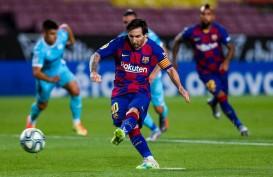 Hasil Liga Spanyol : Messi Cetak 2 Gol, Barcelona Hajar Real Betis 5–2