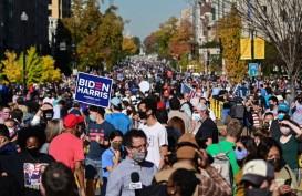 Biden Menang, Para Pendukung Pesta di Seluruh Negara Bagian