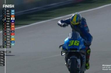 Setelah 38 tahun, Pembalap Suzuki Sabet Posisi Teratas MotoGP Eropa
