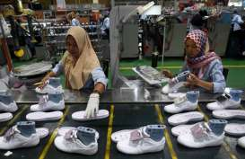 PENURUNAN PERMINTAAN  : Industri Alas Kaki Terpaksa Lakukan Efisiensi