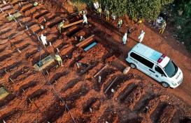 Pemakaman Covid-19: Jumlah Jenazah di TPU Gandus Menurun