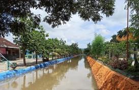 Bersih-bersih Sungai Sukarame, Beri Ruang Terbuka Hijau Bagi Masyarakat Bandar Lampung