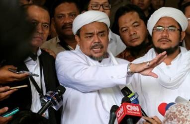 Rizieq Shihab Terbang ke Indonesia, Pendukung di Petamburan Apel Siaga