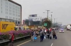 Akses Menuju Soetta Lumpuh, Warga Diimbau Gunakan Jalur Alternatif