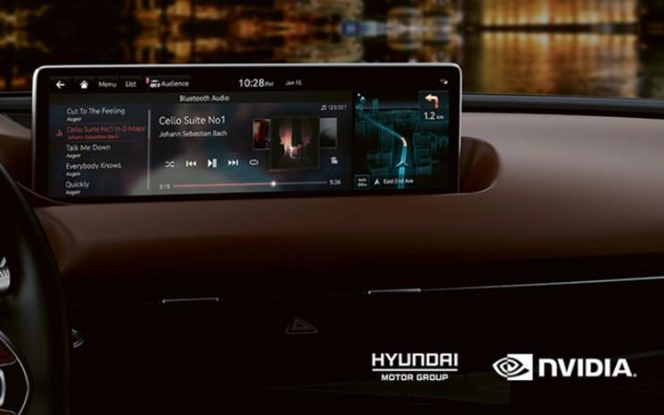 Sejaun ini, platform NVIDIA DRIVE telah mendukung sistem IVI canggih yang disematkan pada model Genesis GV80 dan G80.  - Hyundai