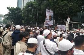 Massa FPI Membubarkan Diri, Lalin di Jalan S Parman…