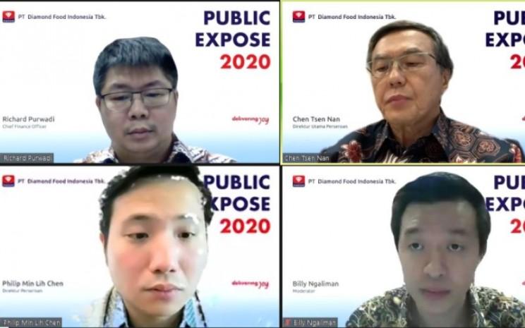 Public Expose PT Diamond Food Indonesia Tbk. - Istimewa