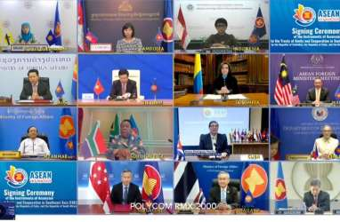 Asean Teken Perjanjian Persahabatan dengan Kolombia, Afsel, dan Kuba