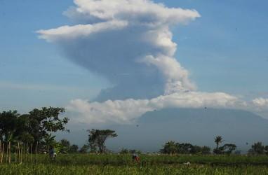 Guguran Lava Merapi pada Rabu Mengarah ke Kali Senowo