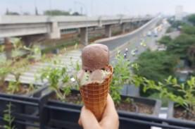 Menikmati Senja di Timur Jakarta Ditemani Vegan Gelato