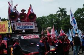 Buruh di Sumsel Tolak Penetapan Upah Minimum Provinsi…
