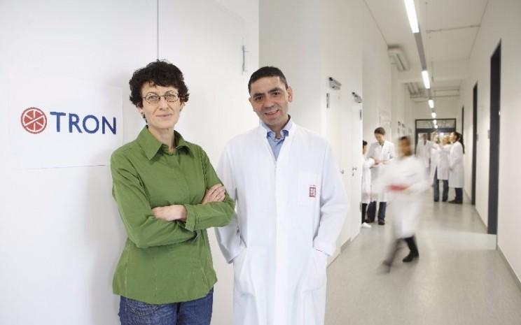 CEO BioNTech, Ugur Sahin, mendirikan firma bersama istrinya, zlem Treci, yang merupakan kepala petugas medis