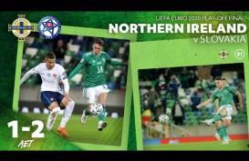 Slovakia Singkirkan Irlandia Utara, Lolos ke Putaran Final Euro 2020