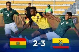 Hasil Pra-Piala Dunia 2022, Ekuador Atasi Tuan Rumah…