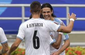 Hasil Pra-Piala Dunia 2022, Suarez & Cavani Bawa Uruguay Sikat Kolombia