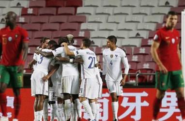 Hasil Nations League : Hajar Portugal, Prancis Lolos ke 4 Besar