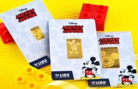 Gandeng Disney, UBS Rilis Logam Mulia Berteknologi Augmented Reality