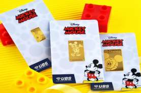 Gandeng Disney, UBS Rilis Logam Mulia Berteknologi…