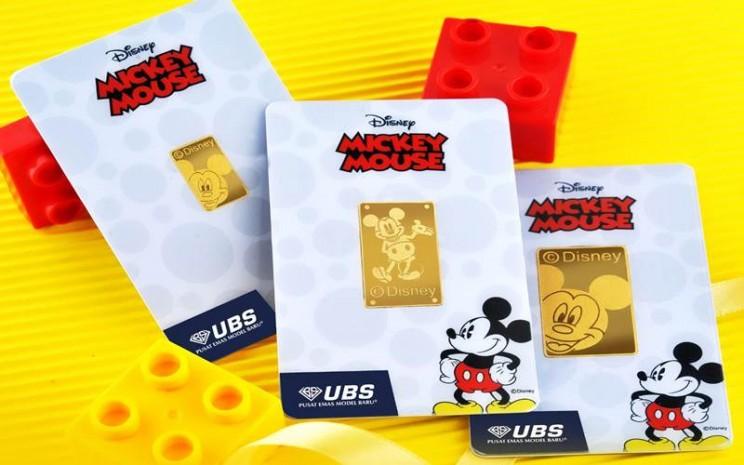 Logam mulia UBS dan Disney