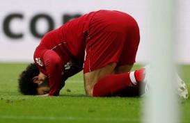 Striker Liverpool Mohamed Salah Hanya Kena Gejala Ringan Covid-19