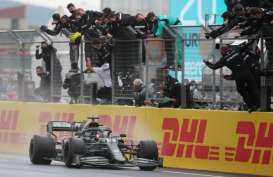 Juarai Grand Prix Turki, Lewis Hamilton Kunci Gelar F1 Ketujuhnya
