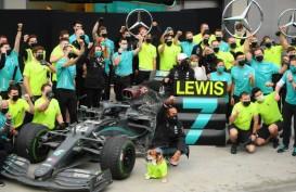 Isak Tangis Hamilton, Pebalap Tersukses Sepanjang Sejarah F1