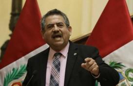 Lima Hari Menjabat, Presiden Sementara Peru Mundur