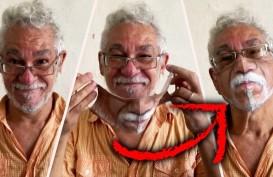 Ajaib! Seniman Brasil Ciptakan Masker Sangat Mirip Dengan Wajah Manusia