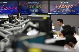Huru-hara Pilpres AS Reda, Bursa Asia Kompak Menguat