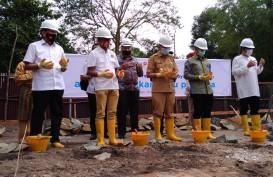 Peletakan Batu Pertama Sentra Ekonomi Kreatif dan Budaya Riau