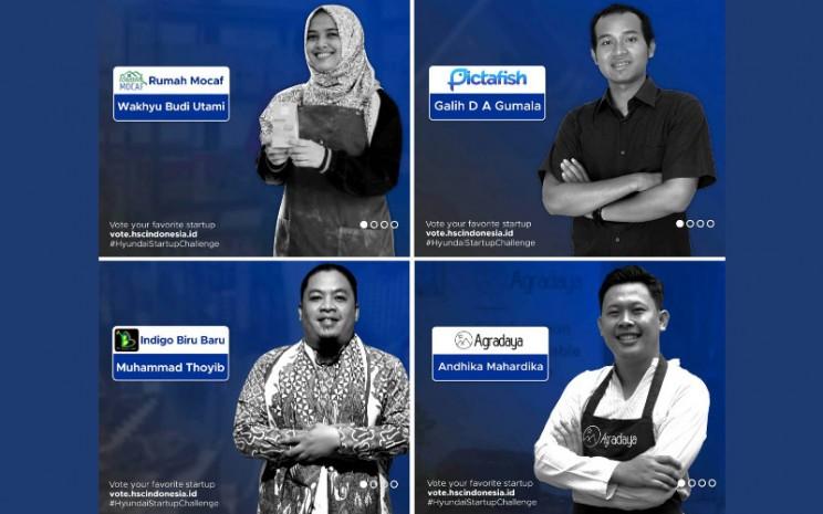 Para pemenang kompetisi Hyundai Start-Up Challenge.  - Hyundai