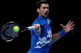 Hasil ATP Finals, Djokovic & Medvedev Membuka Kemenangan