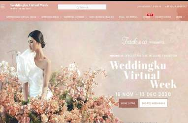100.000 Calon Pengantin Ikuti Pesta Pernikahan Weddingku Virtual Week