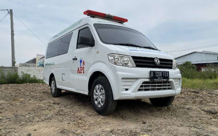 DFSK SuperCub Ambulans. DFSK