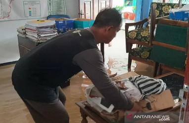 Ratusan Rumah di Prembun Banyumas Terendam Banjir