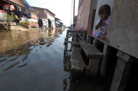 Jakarta Utara Banjir Rob, 14 RT Terendam