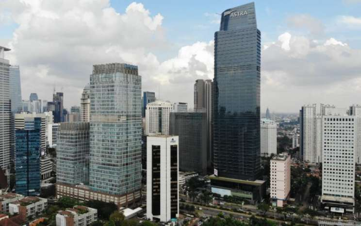 Suasana kantor pusat PT Astra International Tbk (ASII) di kawasan Jln Sudirman, Jakarta pusat, Selas (16 - 6).Nurul Hidayat